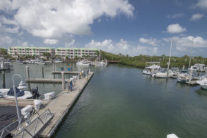 Slips for rent. Fuel Docks Sunset Marina Key West